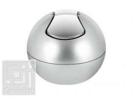 BOWL MATT Silver Kozmetikai szemetes