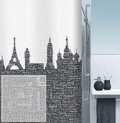 URBAN Black Zuhanyfüggöny 180x200 cm