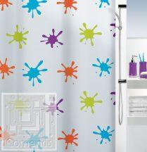 SPLASH Multicolor Zuhanyfüggöny 180x200 cm