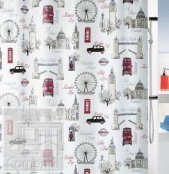 WESTMINSTER Zuhanyfüggöny 180x200 cm