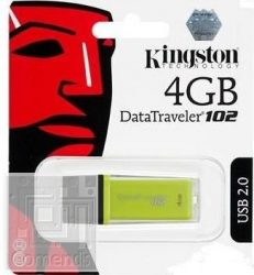 Kingston 4GB USB 2.0 Data Traveler 102 Pendive