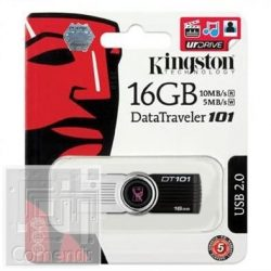 Kingston 16GB USB 2.0 Data Traveler 101 G 2 Pendrive