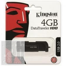 Kingston 4GB USB 2.0 Data Traveler 100 G 2 Pendrive