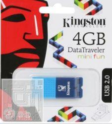 Kingston 4GB USB 2.0 Data Traveler Mini Fun G 2 Pendrive