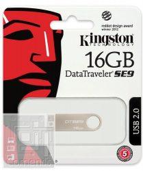 Kingston 16GB USB 2.0 Data Traveler SE9 G 2  Pendive