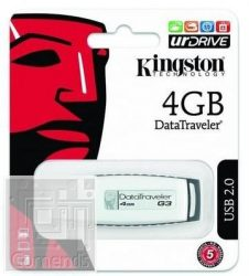 Kingston 4GB USB 2.0 Data Traveler DTIG3 Pendrive