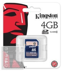 Kingston 4GB Secure Digital (SDHC Class 4) memória kártya