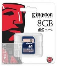 Kingston 8GB Secure Digital (SDHC Class 4) memória kártya