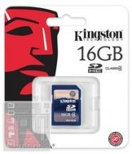 Kingston 16GB Secure Digital (SDHC Class 4) memória kártya