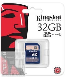Kingston 32GB Secure Digital (SDHC Class 4) memória kártya