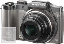 Olympus digitális fényképezőgép SZ-30MR ezüst