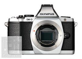 Olympus E-M5 ezüst váz, töltő + akku