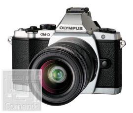 Olympus E-M5 ezüst váz + EZ-M1250 Kit fekete töltő + akku