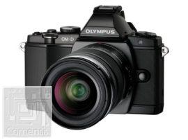 Olympus E-M5 Elite black + EZ-M1240 PRO Kit fekete, töltővel, akkuval és napellenzővel