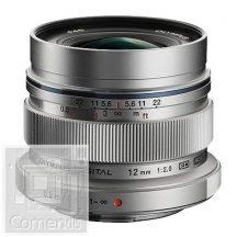 Olympus EW-M1220 ezüst, M.ZUIKO DIGITAL ED 12mm 1:2.0 (24mm) nagylátószögű objektív