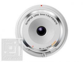Olympus Vázsapka objektív, 9mm 1:8.0 halszem / BCL-0980 ezüst