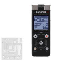 Olympus DM-670 (8GB) diktafon - tok, szíj, Ni-MH akkumulátor, Sonority szoftver, sztereo fülhallgató, USB kábel