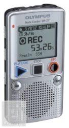 Olympus DP-211 ezüst, 2GB diktafon